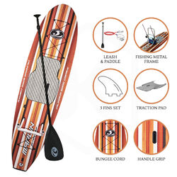 CBC Stock 10' Fishing SUP - Brown