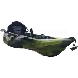 Moss Camo Fishing Kayak Package