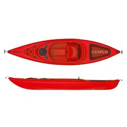 3m Sit-in Recreational Kayak Package (Red)