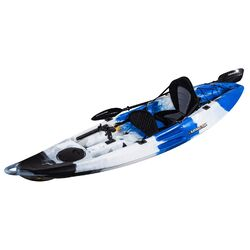 Falcon 1+1 Fishing Tandem Kayak Package - Blue Camo