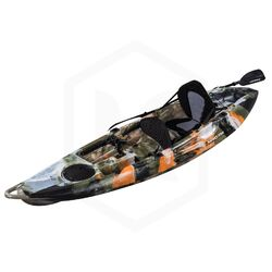 Falcon 1+1 Fishing Tandem Kayak Package - Jungle