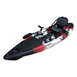 ORCA 12 Pro Fishing Kayak Package - Red Sea