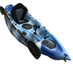 Ocean Camo Fishing Kayak Package