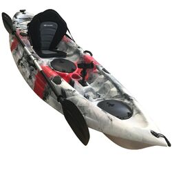OSPREY Red Grey Fishing Kayak Package