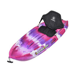 Pink Camo Kids Kayak Package