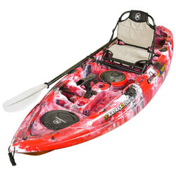 NEXTGEN 9 Fishing Kayak Package - Red Camo