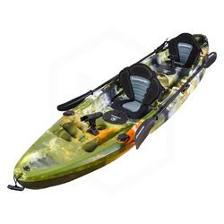 Eagle Double Fishing Kayak Package - Jungle Camo