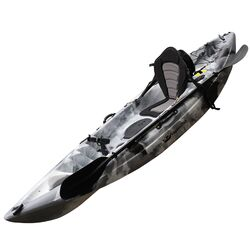 Grey Camo Fishing Kayak Package