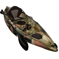 Jungle Camo Fishing Kayak Package