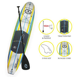 "CBC Stock 10'6"" SUP Package - Yellow"
