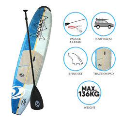 "CBC Stock 10'6"" SUP Package - Blue"