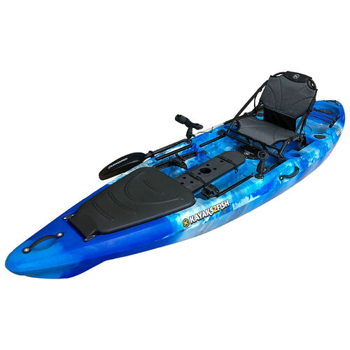 ORCA 12 Pro Fishing Kayak Package - Blue Sea