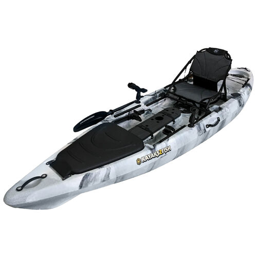 ORCA 12 Pro Fishing Kayak Package - Storm