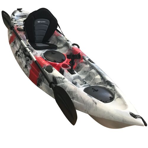 Osprey Fishing Kayak Package - Red Grey