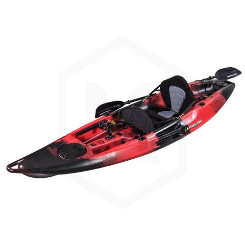 Falcon 1+1 Fishing Tandem Kayak Package - Redback