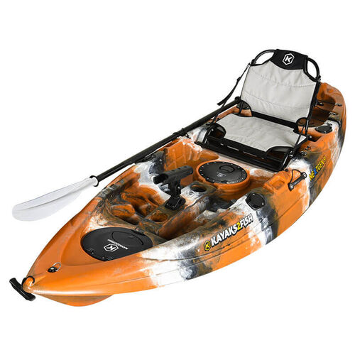 NEXTGEN 9 Fishing Kayak Package -  Tiger
