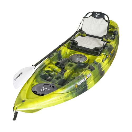 NEXTGEN 9 Fishing Kayak Package - Moss Camo