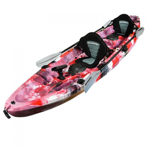 Eagle Double Fishing Kayak Package - Red Camo