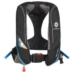 Crewsaver Crewfit 180N Pro Manual Inflatable PFD - Black/Blue