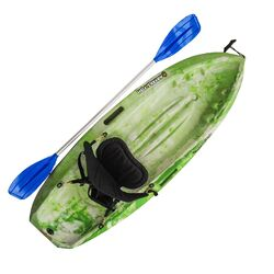 Puffin Green Camo Kids Kayak Package