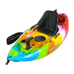 Puffin Pro Kids Kayak Package - Rainbow