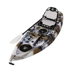 NEXTGEN 9 Fishing Kayak Package - Desert