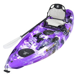 NEXTGEN 9 Fishing Kayak Package - Purple Camo