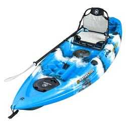 NEXTGEN 9 Fishing Kayak Package -  Blue Lagoon