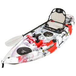 NEXTGEN 9 Fishing Kayak Package - Red Grey