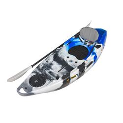NEXTGEN 7 Fishing Kayak Package - Blue Camo