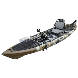 Kronos Foot Pedal Pro Fish Kayak Package - Sahara